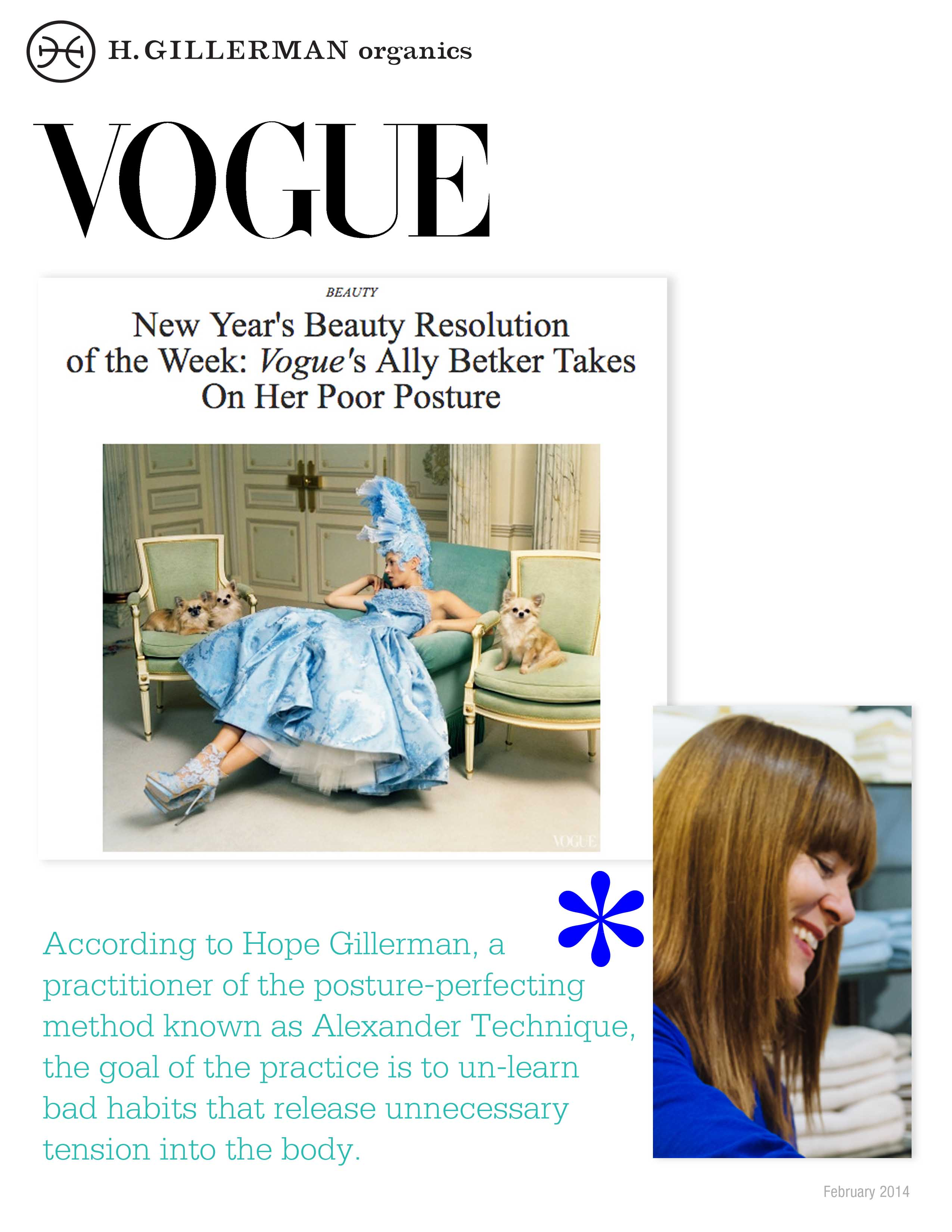 VOGUE H Gillerman Organics